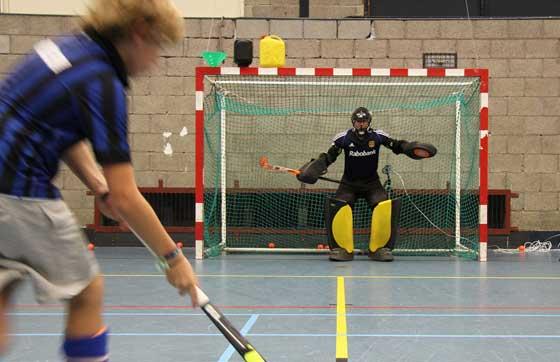 Zaalhockey bij Victoria
